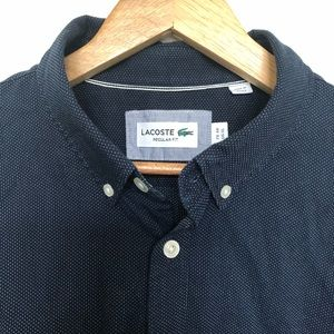 LACOSTE Button Up Shirt